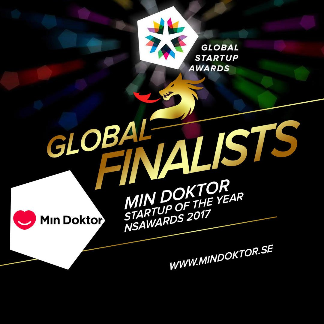 Min Doktor tävlar i Global Startup Awards, i Changsha, Kina