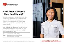 Min Doktor öppnar Vård&Vaccin-mottagning i Umeå